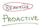 Reactive-v-Proactive